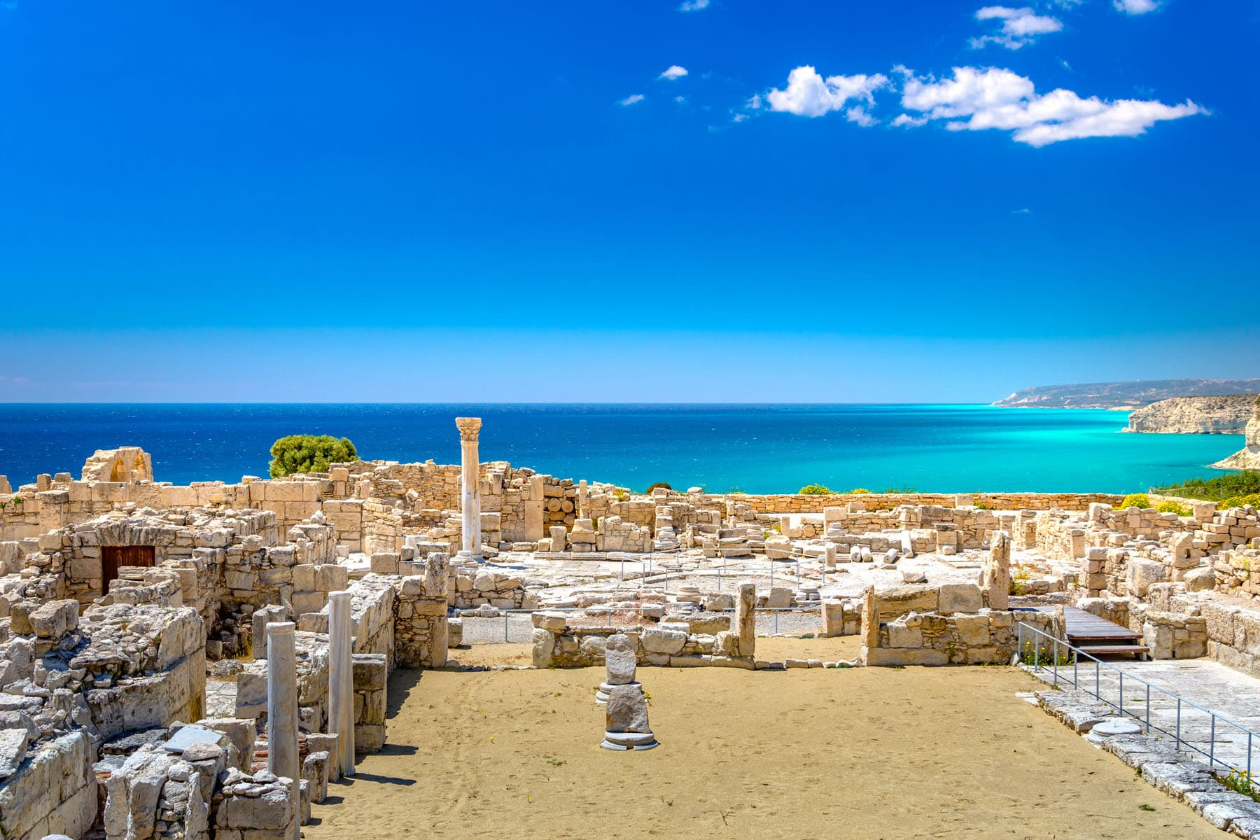 KOURION RUINS - Partenza Travel creates luxury vacations to Cyprus