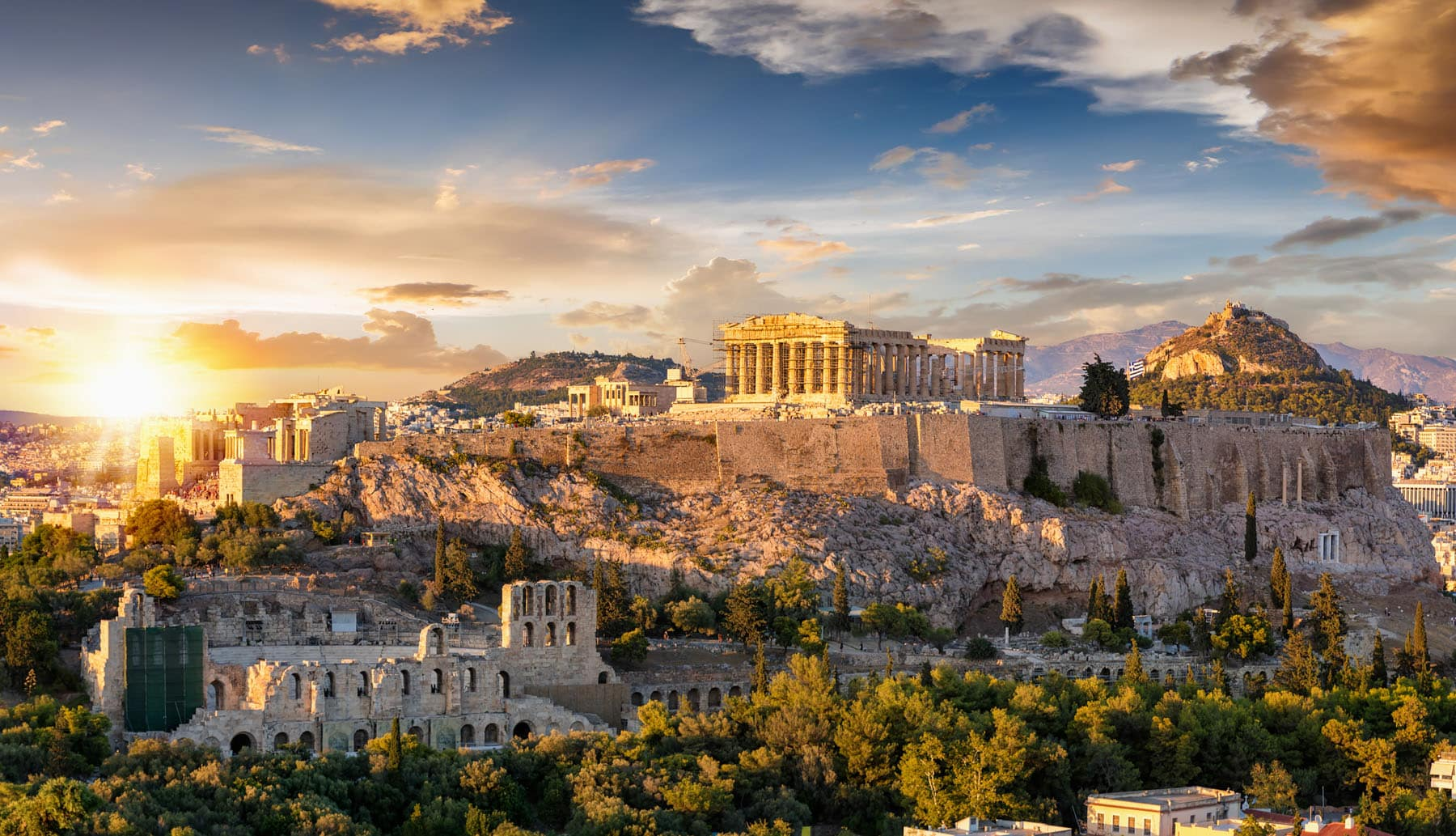 The Acropolis of Athens - Partenza Travel creates luxury travel packages to Greece