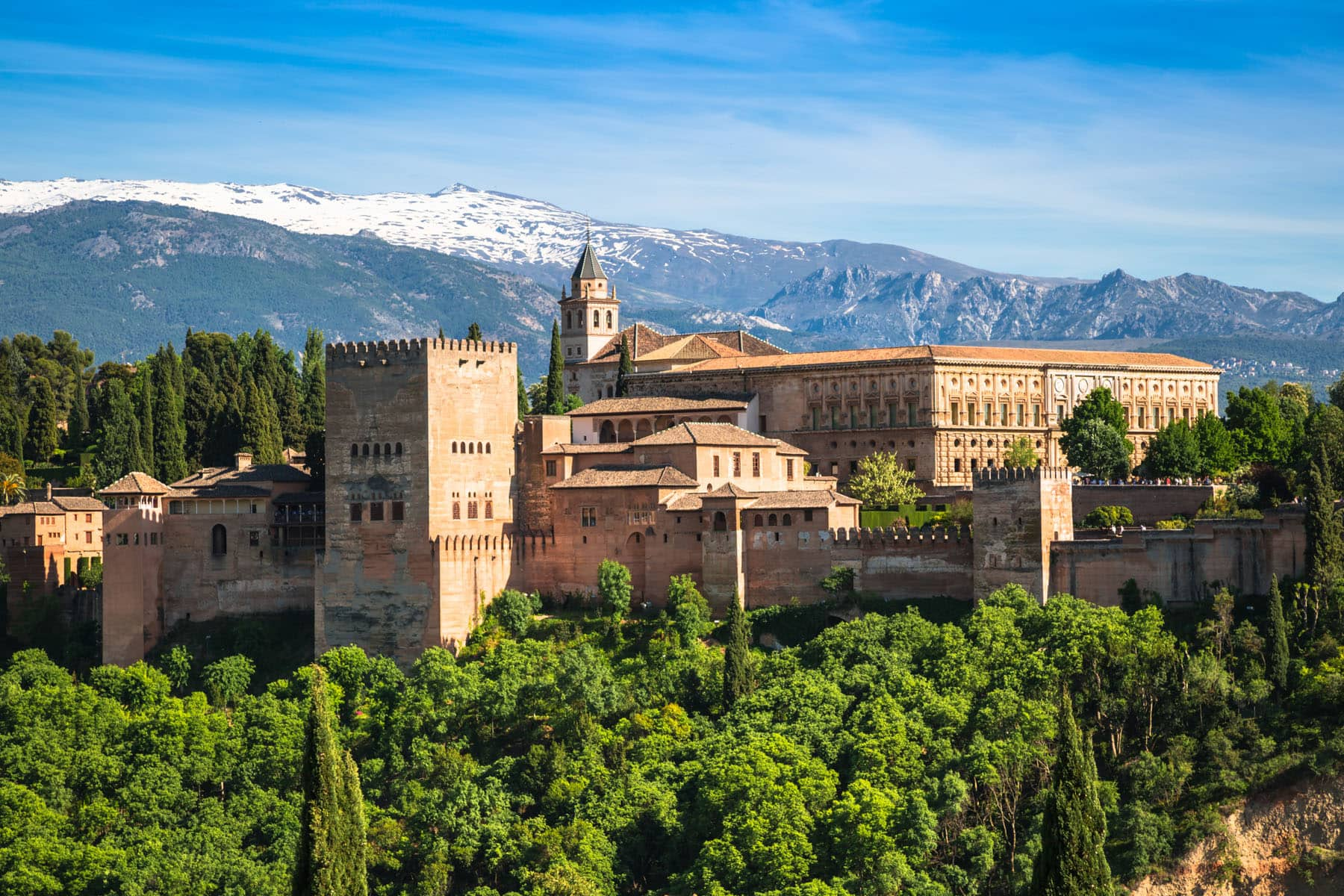Granada, Spain - Partenza Travel plans vacation packages to Spain