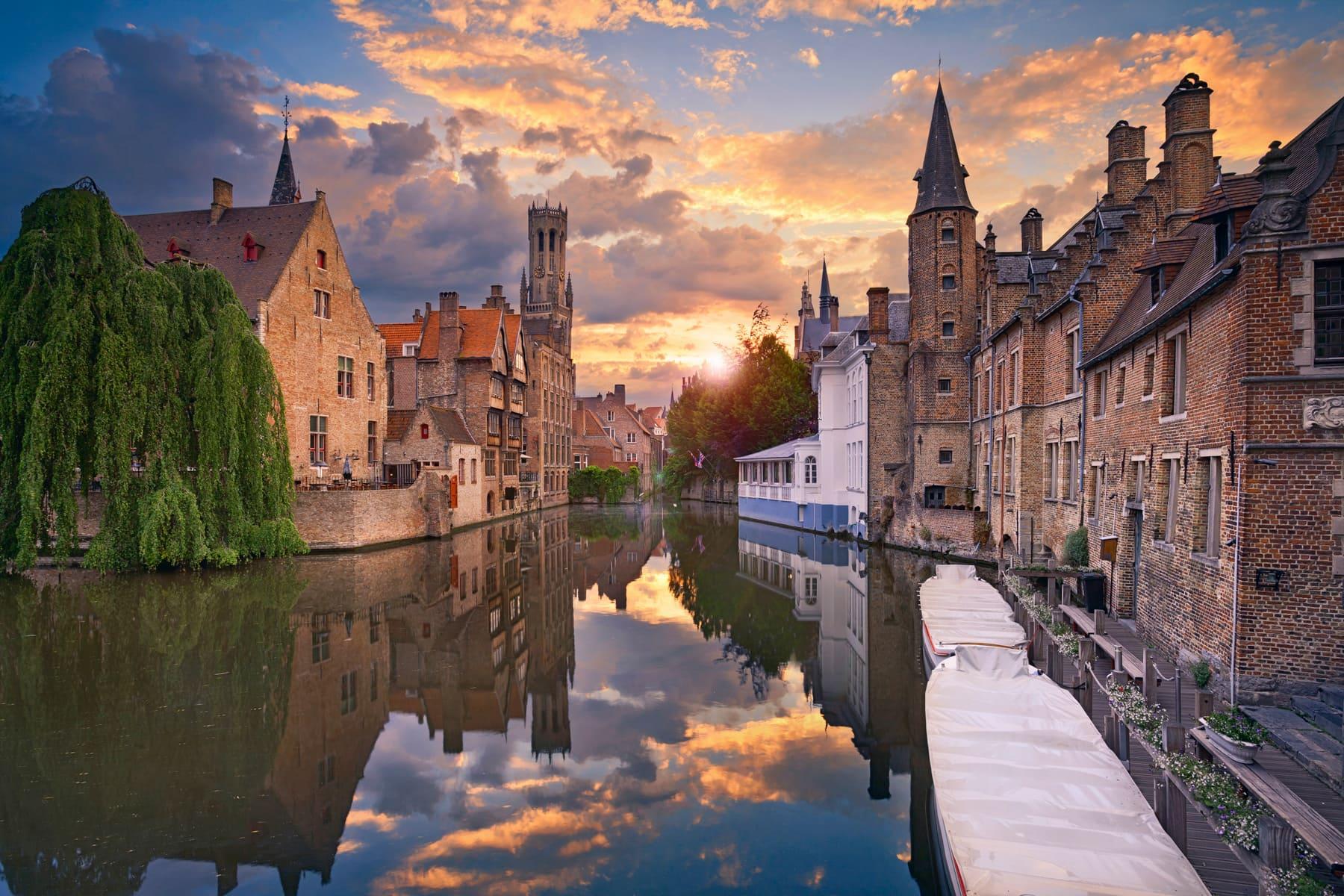 BRUGES - Partenza Travel creates luxury travel packages to Belgium