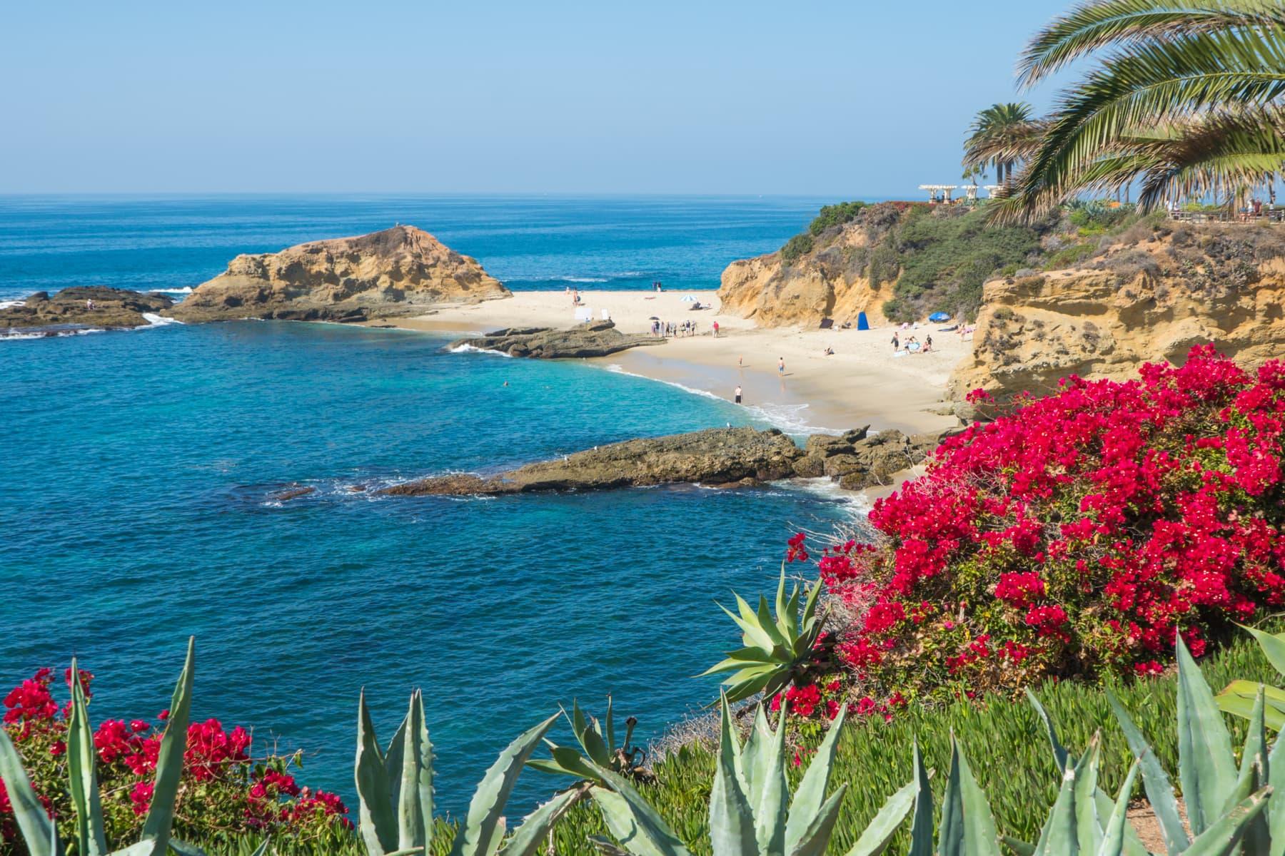 Laguna Beach - Partenza Travel creates luxury travel packages to California