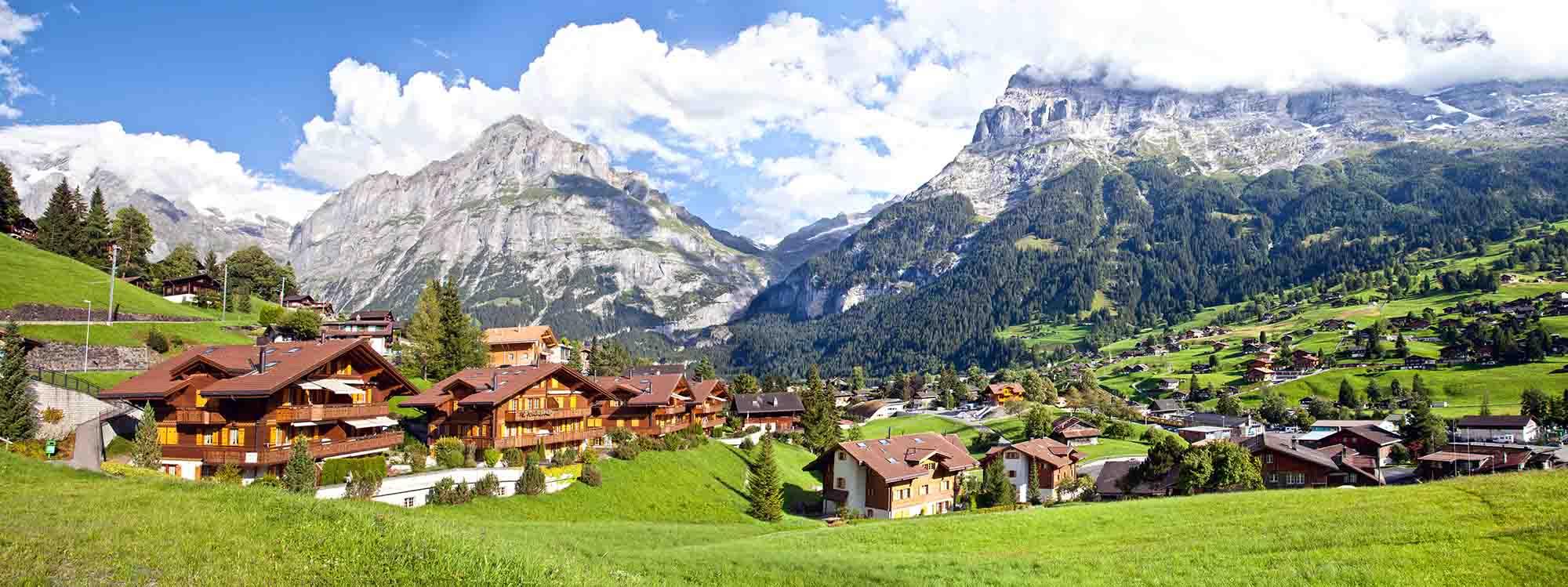 Grindelwald Village - Partenza Travel creates luxury travel packages to Switzerland